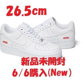 Supreme - Supreme Nike Air Force 1 Low White 26.5