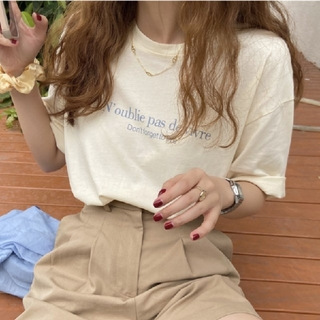 ロゴ Tシャツ 【3color】