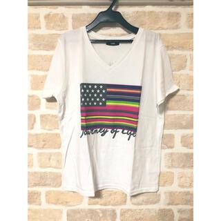 ロデオクラウンズ(RODEO CROWNS)の美品 ロデオ tシャツ(Tシャツ(半袖/袖なし))