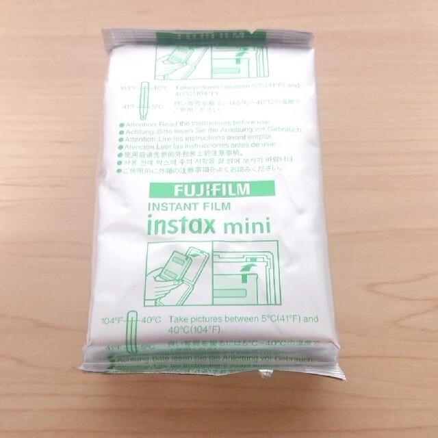 富士フイルム(フジフイルム)のinstax mini チェキ フィルム 10枚 FUJIFILM  スマホ/家電/カメラのカメラ(フィルムカメラ)の商品写真