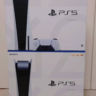 SONY - PS5 PlayStation5 本体 新品未開封 2台セット