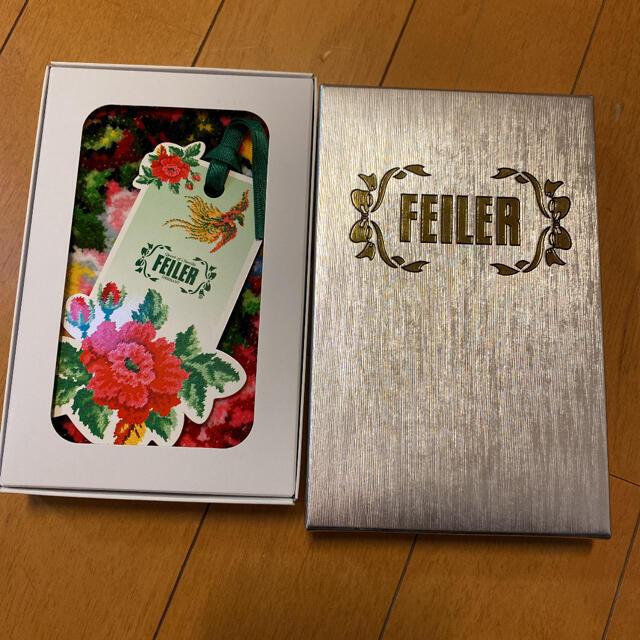FEILER(フェイラー)の未使用品 フェイラー   ミニタオル 25cm×25cm レディースのファッション小物(ハンカチ)の商品写真