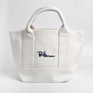 ロンハーマン(Ron Herman)の【Ron Herman】ミニトートバッグ ホワイト(トートバッグ)