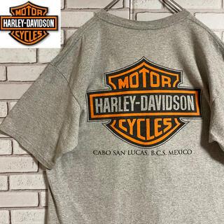 ハーレーダビッドソン(Harley Davidson)の90s 古着 ハーレーダビッドソン 両面プリント ビッグシルエット ゆるだぼ(Tシャツ/カットソー(半袖/袖なし))