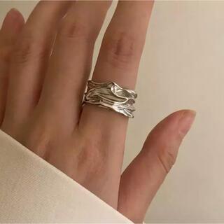 イエナ(IENA)のイレギュラーシルバーリング silver925   (リング(指輪))