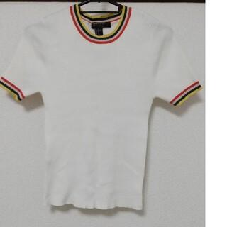 フォーエバー21 白の半袖カットソー
