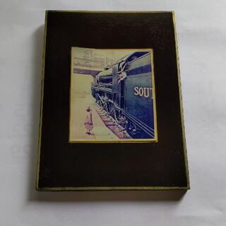 イギリス SOUTHERN RAILWAY 男の子 額(写真額縁)