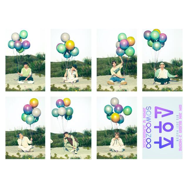 防弾少年団(BTS)(ボウダンショウネンダン)のBTSトレカSOWOOZOO C エンタメ/ホビーのCD(K-POP/アジア)の商品写真