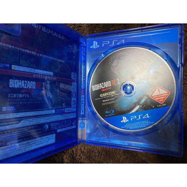PlayStation4(プレイステーション4)のバイオハザード RE:3 Z Version PS4 エンタメ/ホビーのゲームソフト/ゲーム機本体(家庭用ゲームソフト)の商品写真