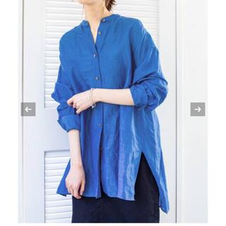 IENA - IENA♡ラミーリヨセルバックギャザーシャツ plageフレームワーク