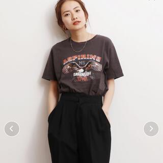 アングリッド(Ungrid)のUngrid  プリントTシャツ(Tシャツ(半袖/袖なし))