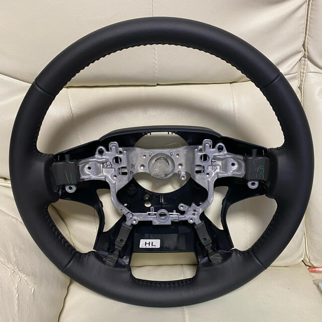 トヨタ(トヨタ)のアルファード30後期 特別仕様車 純正 ステアリング ハンドル 自動車/バイクの自動車(車種別パーツ)の商品写真