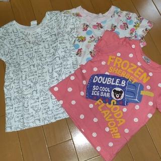 DOUBLE.B - 【割引/差額あり】 女の子Tシャツ