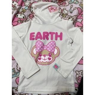 アースマジック(EARTHMAGIC)の🤍🕊様専用♡ハイネックロンTと襟付きワンピ(Tシャツ/カットソー)