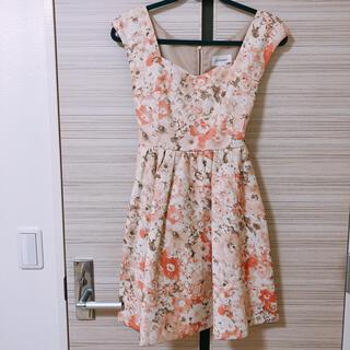ジルスチュアート(JILLSTUART)のジルスチュアート 花柄 ワンピース ドレス(ひざ丈ワンピース)