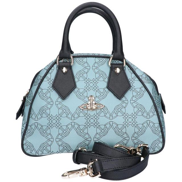 Vivienne Westwood(ヴィヴィアンウエストウッド)のVivienne ヴィヴィアン LOGOMANIA YASMINE 2way 鞄 レディースのバッグ(ハンドバッグ)の商品写真