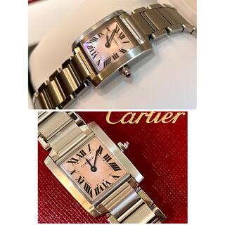 Cartier - カルティエ Cartier タンク フランセーズ ピンクシェル