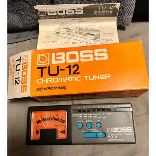 ボス(BOSS)のBOSS チューナー TU-12(エフェクター)