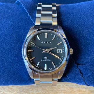 Grand Seiko - 【良品】グランドセイコー GS SBGX061腕時計クオーツブラック文字盤