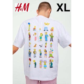 H&M - 新品 安値 H&M × シンプソンズ Simpsons Tシャツ XL