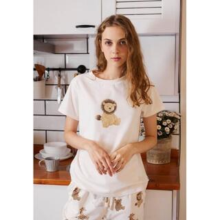 gelato pique - アニマルTシャツ&ロングパンツセット