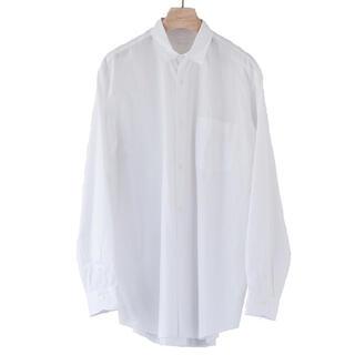 コモリ(COMOLI)の20aw comoli コモリシャツ ホワイト サイズ2(シャツ)
