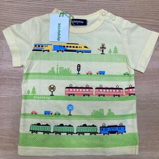 kladskap - 【新品】クレードスコープ  Tシャツ 電車 80 黄色