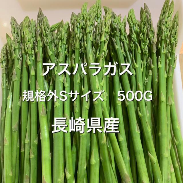 長崎産アスパラガス 規格外 極細 500G 食品/飲料/酒の食品(野菜)の商品写真