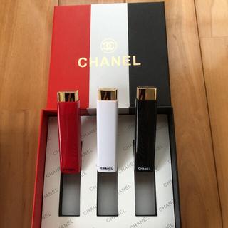 CHANEL - CHANEL口紅 3本セット (箱入り・新品)
