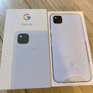 Google Pixel - 【新品未使用】Google pixel 4a 128GB SIMフリー