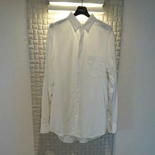 UNIQLO - ユニクロ 長袖シャツ XL  ファインクロスワイシャツ ビジネス