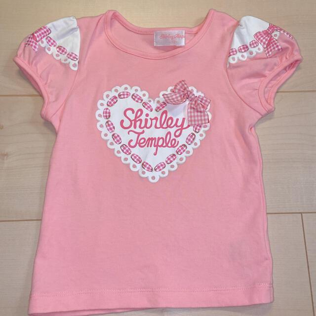 Shirley Temple(シャーリーテンプル)のシャーリーテンプル トップス 100 キッズ/ベビー/マタニティのキッズ服女の子用(90cm~)(Tシャツ/カットソー)の商品写真