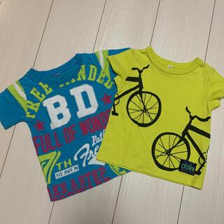 ニシマツヤ(西松屋)のTシャツ꙳★*゚2枚セット꙳★*゚80(Tシャツ)