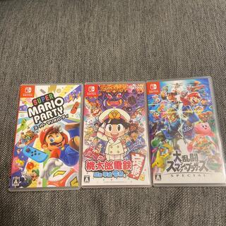 Nintendo Switch - 【セット販売】桃鉄、スーパーマリオパーティー、スマブラ
