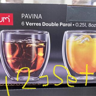 ボダム(bodum)のボダム 250ml  12個セット(グラス/カップ)