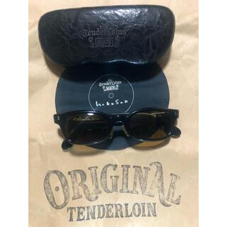 TENDERLOIN - TENDERLOIN 白山眼鏡店 in the wind 黒金 サングラス 眼鏡