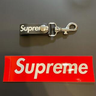 Supreme - シュプリーム supreme leather key loop ブラック 検品済