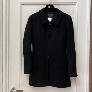 シャネル(CHANEL)のシャネル ジャケット+スカート ブラック(テーラードジャケット)