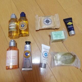 ロクシタン(L'OCCITANE)のロクシタン シャワージェル、石鹸、クリーム ミニ(ボディソープ/石鹸)