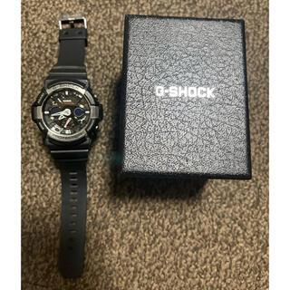 CASIO - CASIO G-SHOCK 黒 ブラックブルー メンズ 腕時計