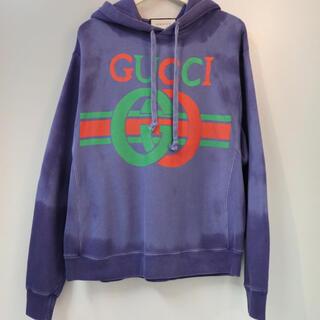 グッチ(Gucci)のGUCCI 19ss ロッキングG フーディー ハーフパンツ セットアップ(スウェット)
