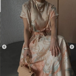 Ameri VINTAGE - MEDI MANON SET UP DRESS
