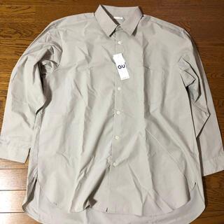 ジーユー(GU)のGUオーバーサイズシャツ(シャツ)
