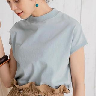 コーエン(coen)のcoen USAコットンハイネックTシャツ(Tシャツ(半袖/袖なし))