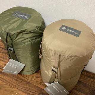 スノーピーク(Snow Peak)の新品タグ付き スノーピーク ペア ミリタリーシュラフ 寝袋 snow peak(寝袋/寝具)