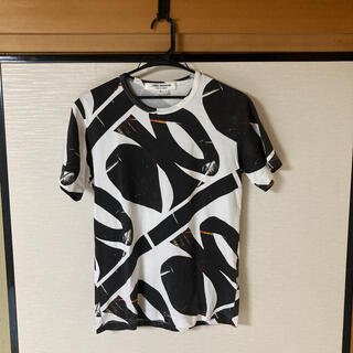 ジュンヤワタナベコムデギャルソン(JUNYA WATANABE COMME des GARCONS)のJUNYA WATANABE デザイン総柄Tシャツ ギャルソン(Tシャツ/カットソー(半袖/袖なし))