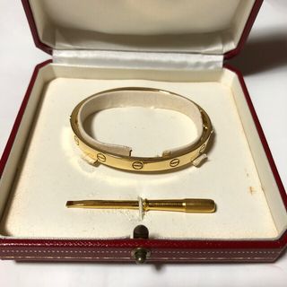 Cartier - k18 カルティエ ラブブレス 旧型 18