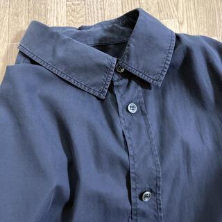 マルタンマルジェラ(Maison Martin Margiela)のマルジェラ10  シャツ 黒 48  墨黒 comoli(シャツ)