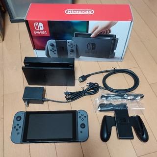 任天堂 - Nintendo Switch JOY-CON グレー 本体  HAC-S-KA