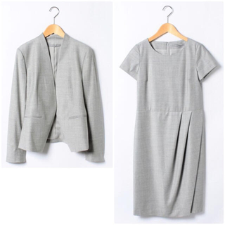 Theory luxe - theory luxe EXECUTIVE ワンピーススーツ DONNA グレー